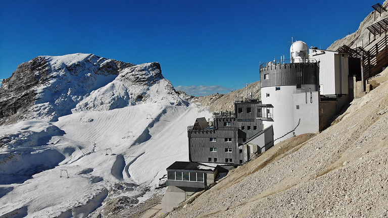 Klimaworkshop auf der Zugspitze