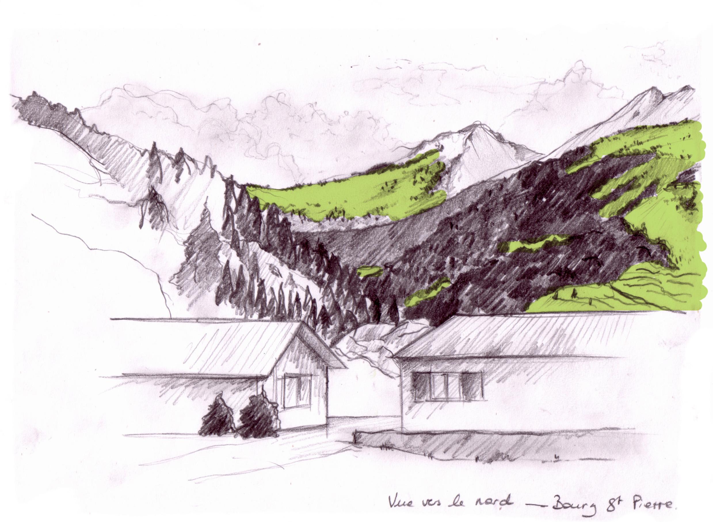 Etude des paysages de montagne