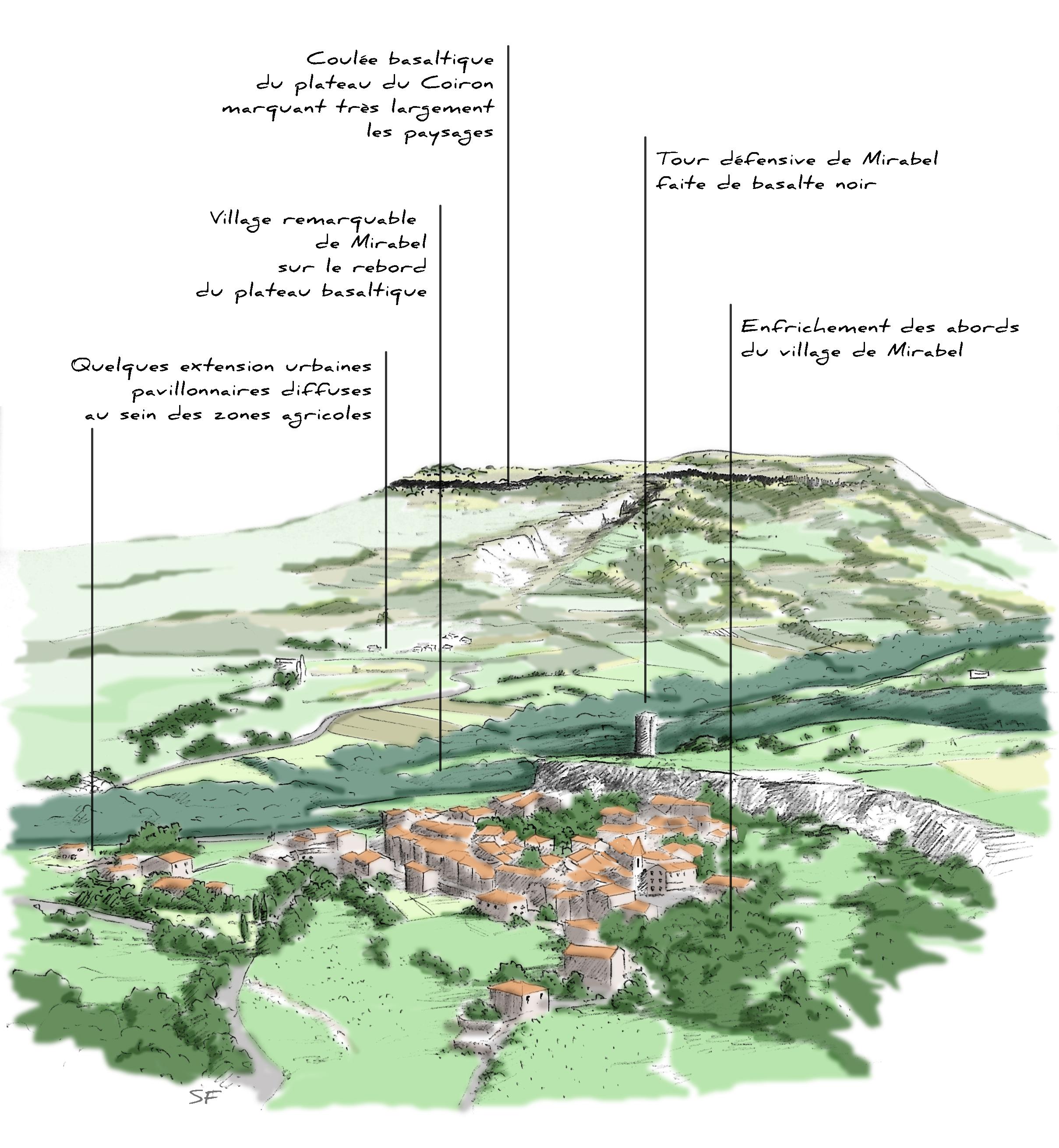 Plan de Paysage des Monts d'Ardèche
