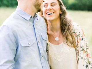 Callie + Derek | Engagement Session | Smith Park | Brentwood, TN