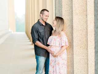 Ashley + Justin | Maternity Session | Nashville, TN