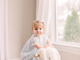 Baby Harper | One Year Session | Nashville, TN