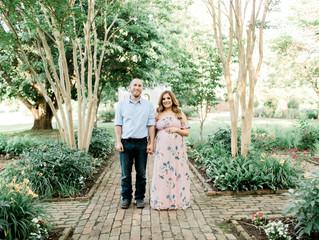 Elissa & Ryan | Maternity Session | Cragfont Mansion