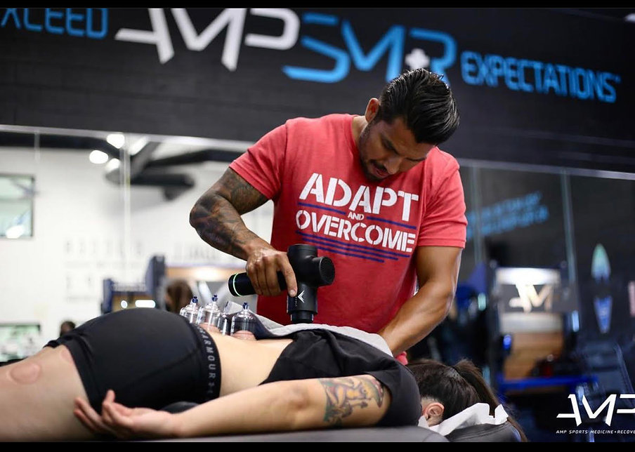 AMP Sports Med Dr. Mike Percussion Therapy
