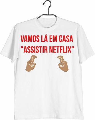 Camisa Vamos assistir Netflix
