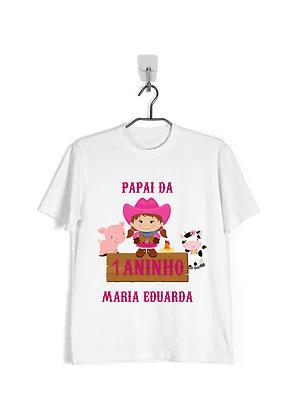Camisa Aniversário Família Fazendinha