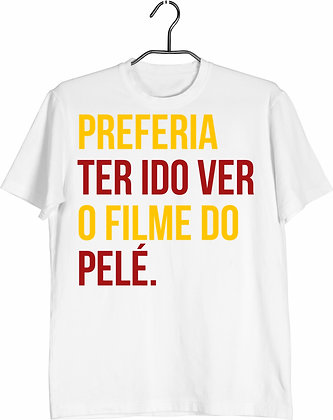Camisa Filme do Pelé
