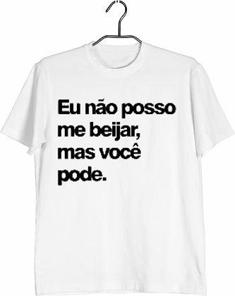 Camisa Eu não posso me beijar