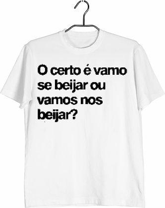 Camisa vamo se beijar
