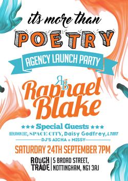 agency launch flyer