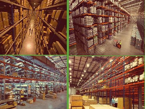 Видеонаблюдение на склад под ключ 4 камеры