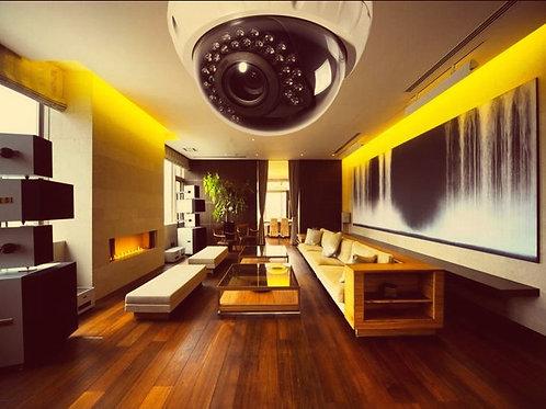 Видеонаблюдение в квартиру под ключ 2 камеры