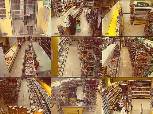 Видеонаблюдение на производсве под ключ 4 камеры
