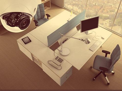 Видеонаблюдение в офис под ключ 2 камеры