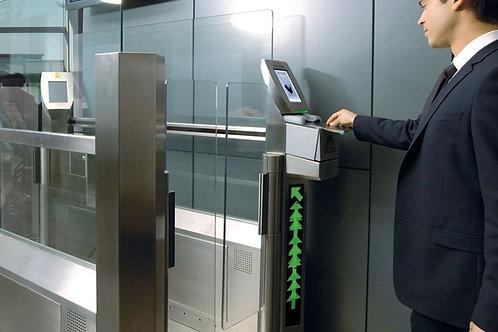 СКУД комплект №3 на 1 дверь с биометрическим считывателем