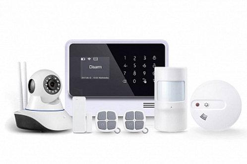 Беспроводная охранная (пожарная) WiFi GSM сигнализация Страж Премиум 2 для дома