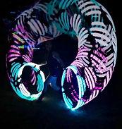 Lisa Truscott - LED hula hoop