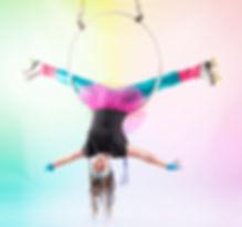 Rolle disco aerial hoop - Lisa Truscott