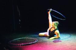Lisa Truscott - hula hoop