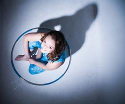 Lisa Truscott hula hoop