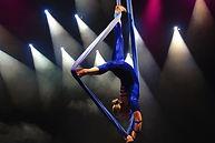 Lisa Truscott - Aerial silks