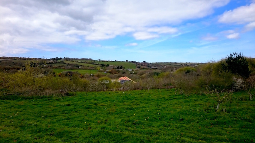 Spot the big top . . . deep in the heart of a beautiful Cornish valley, a vibrant circus community comes alive at Chyan Farm.