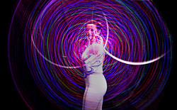 LED hula hoop - Lisa Truscott