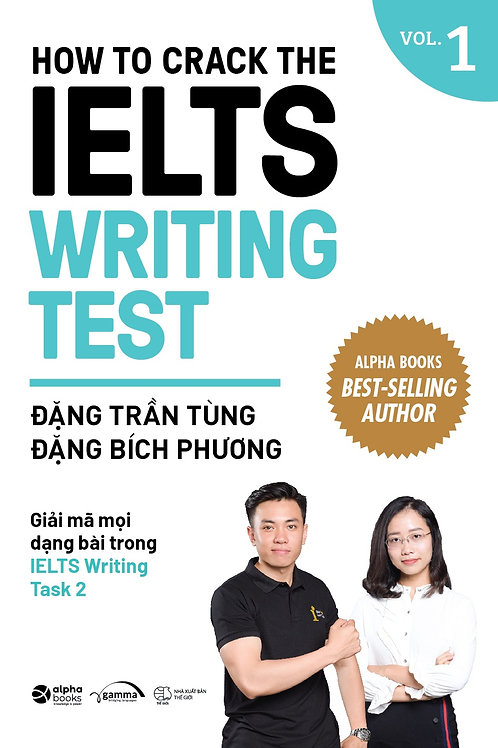 Sách How to crack the IELTS Writing test - Vol 1