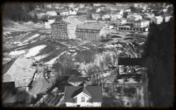 Utsikt fra silobygget 1953