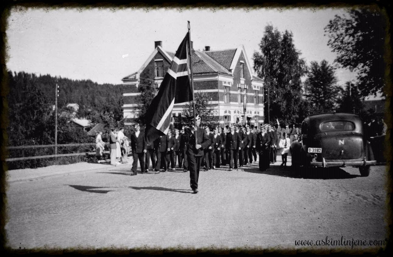 Korps marsjerer 1949
