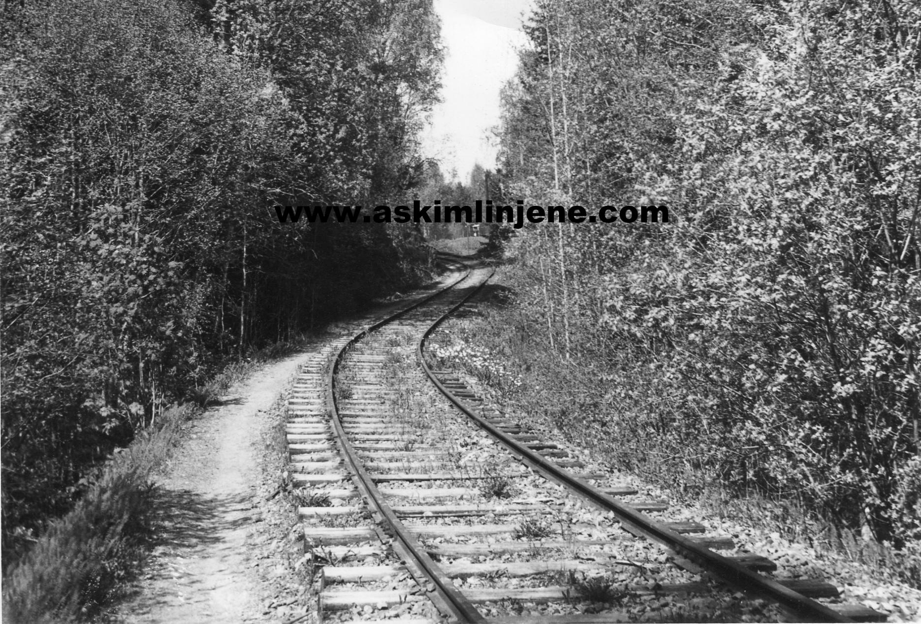 Solbergfossbanen 1967-68