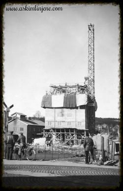 Fra silobygget 1953