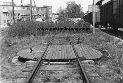 Solbergfossbanens dreieskive