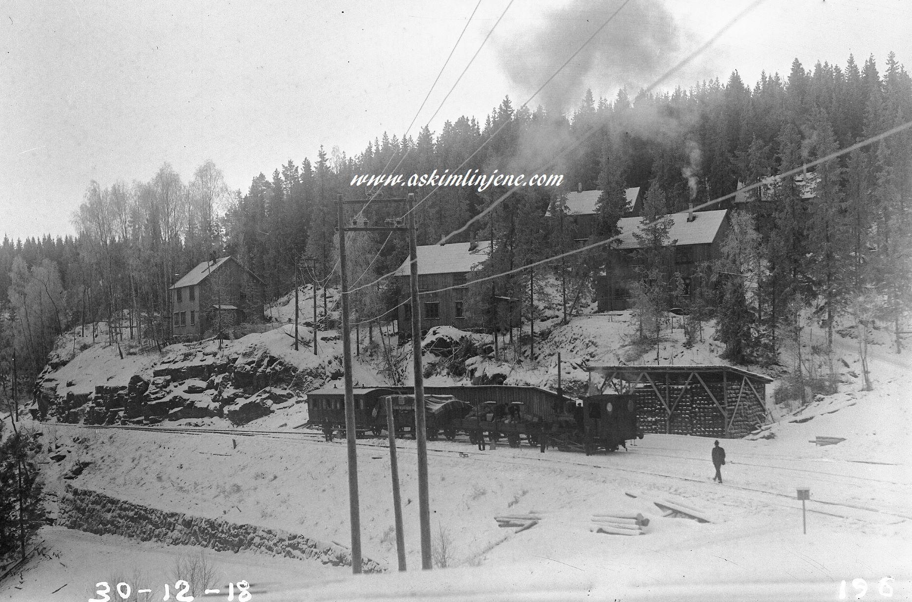 Solbergfoss 1918