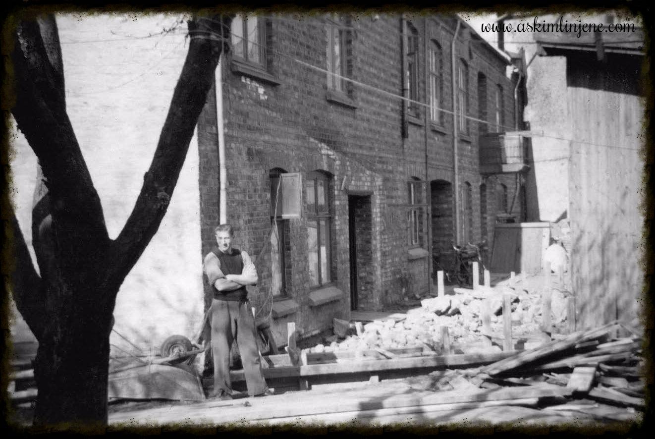 Indre-gården 1950