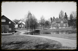 Gården til Olav H.Mysen 1950