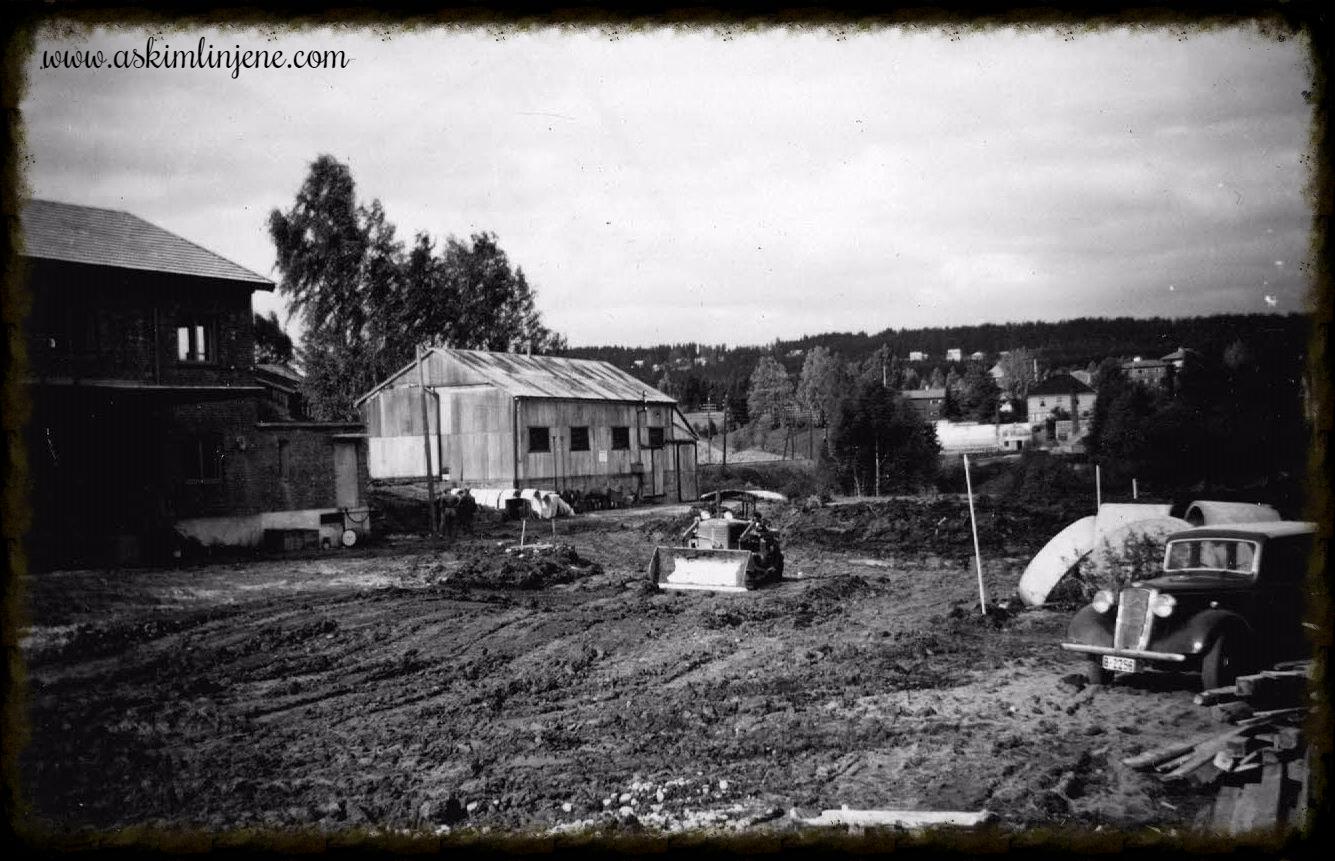 Kornsilo-tomta 1952