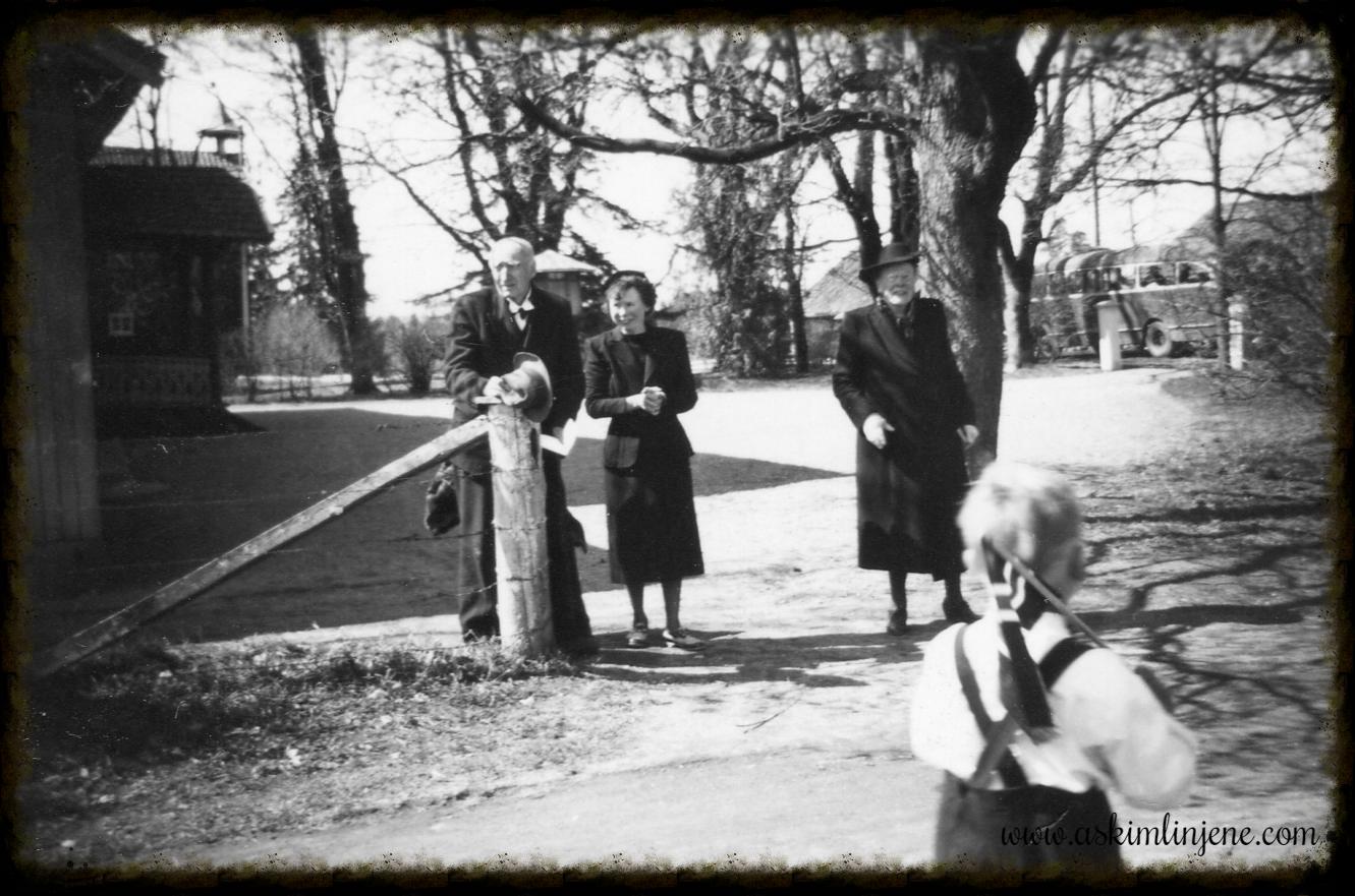 Hr.Jølsen m/frue og fru Knoph 17.mai