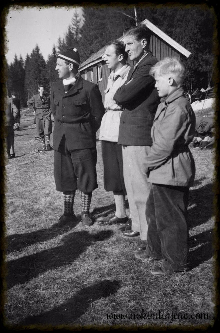Tilskuere Stykkum-sletta Slitu 1952