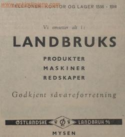 Østlandske Landbruk