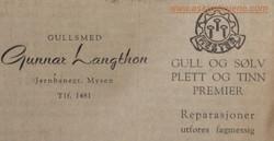 Gunnar Langthon