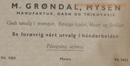 M.GRØNDAL
