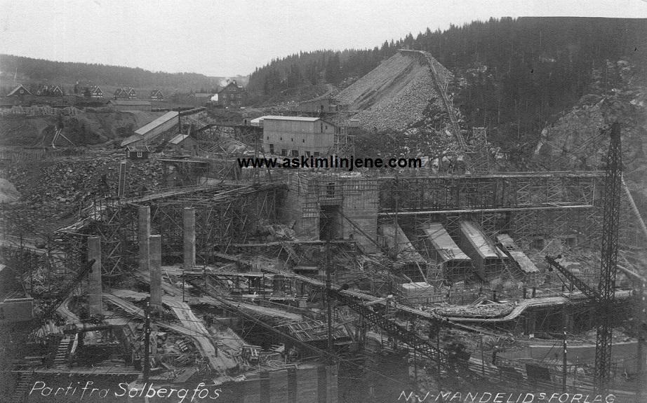 Solbergfoss ca 1921