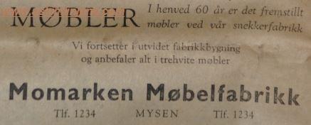 Momarken Møbelfabrikk