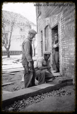 Indres bakgård mai 1950