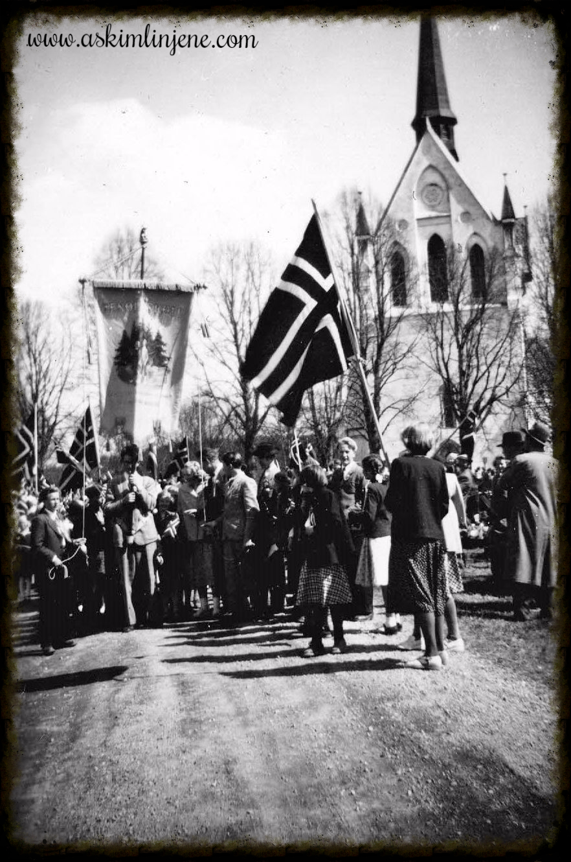 17.mai 1951 Eidsberg Kirke