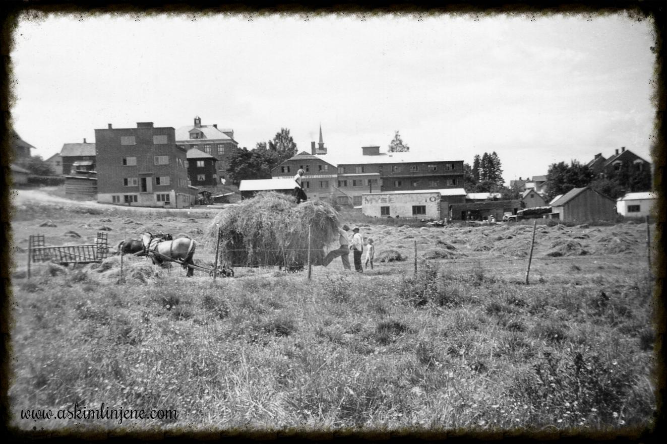 Mot Mørstad ca 1950