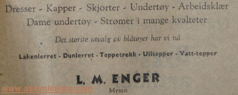 L.M.ENGER