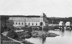 Solbergfoss ca 1924
