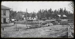 Mysen jernbanestasjon ca 1910